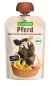 Organic Pferd Pouch - Fruit and Cereal Puree with Banana, Apricot, Peach and Oat by SESAMSTRASSE BiO
